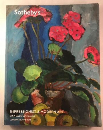 Sotheby's Impressionist & Modern Art Day Sale 20.6.2013  catalogue304 pages book